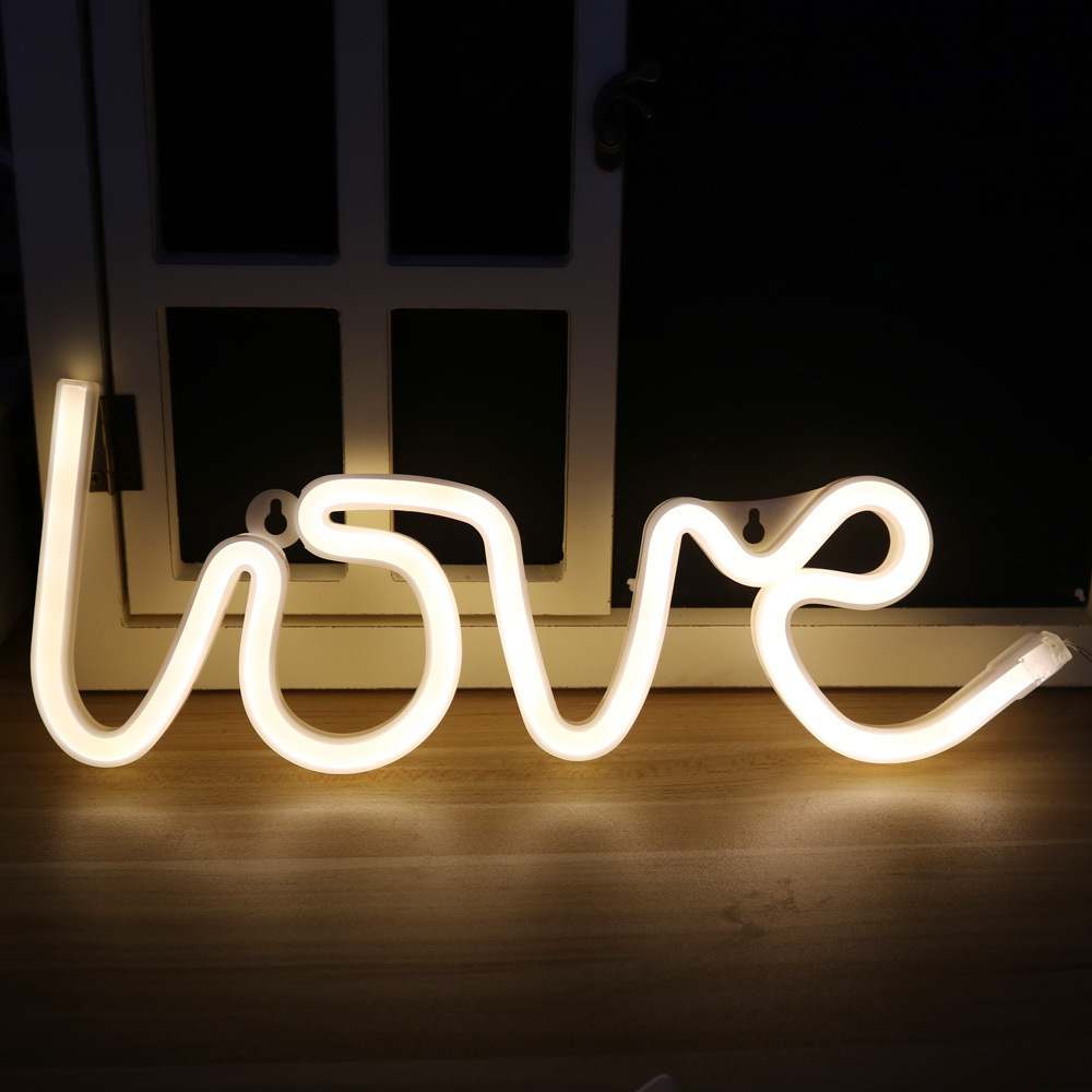 Luzes da Noite night light lamp strip quente Feature 2 : Neon Sign