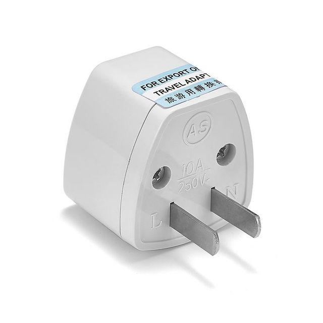 100pcs Universal US American Japan Travel Adapter EU European AU UK ...