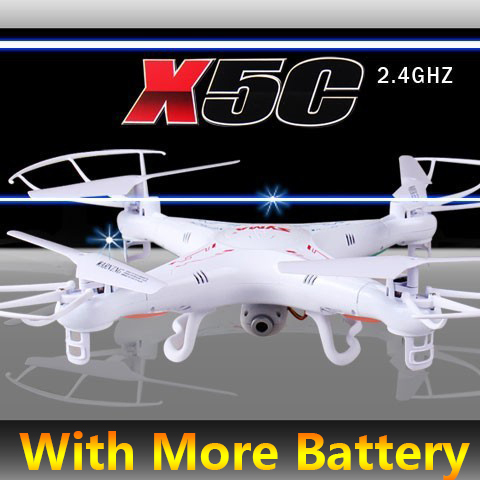 In Stock 100 Original SYMA X5C X5C 1 With More Original Batteries 4CH 2 4G