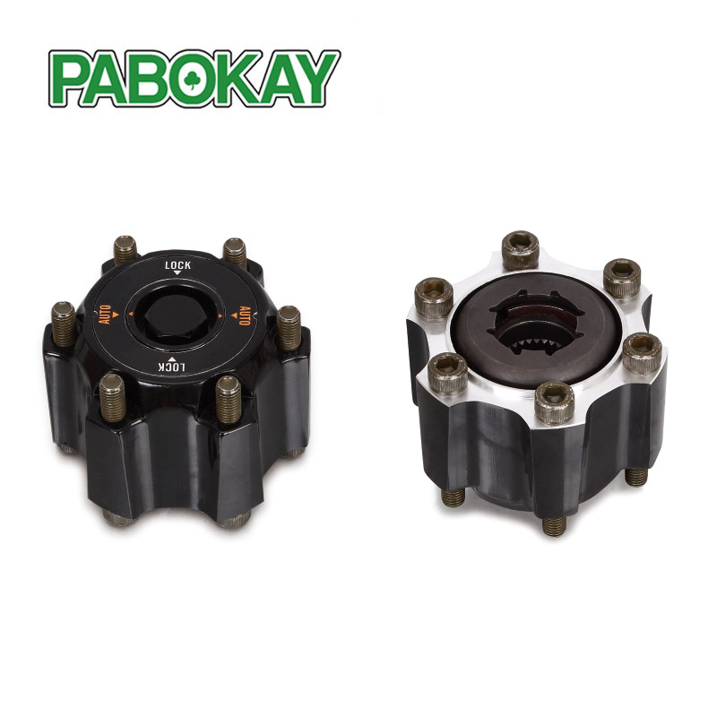 2 PIECES x FOR NISSAN Safari GQ Y60 automatic Free wheel locking hubs B016 40250-20J01 4025020J01 цена