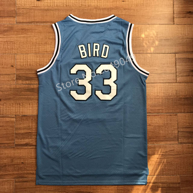 new styles a0281 20882 Newst #33 Larry Bird Indiana State College basketball jersey all size  Embroidery Stitched S-XXL