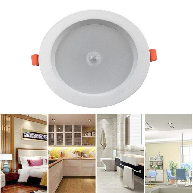 ICOCO Body Induction LED Downlight Ceiling Lamp for Indoor Home Bedroom
