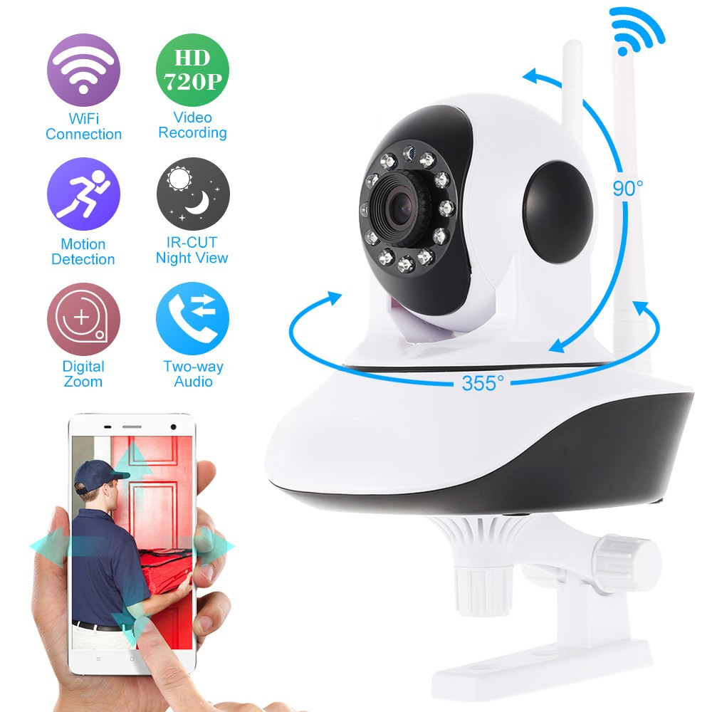 Home Security IP Camera Wireless Smart WiFi Camera WI-FI Audio Record Surveillance Baby Monitor HD Mini CCTV Camera home security ip camera 3g 4g sim wireless smart wifi camera wi fi audio record surveillance baby monitor hd mini cctv camera