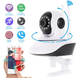Home Security IP Camera Wireless Smart WiFi Camera WI-FI Audio Record Surveillance Baby Monitor HD Mini CCTV Camera