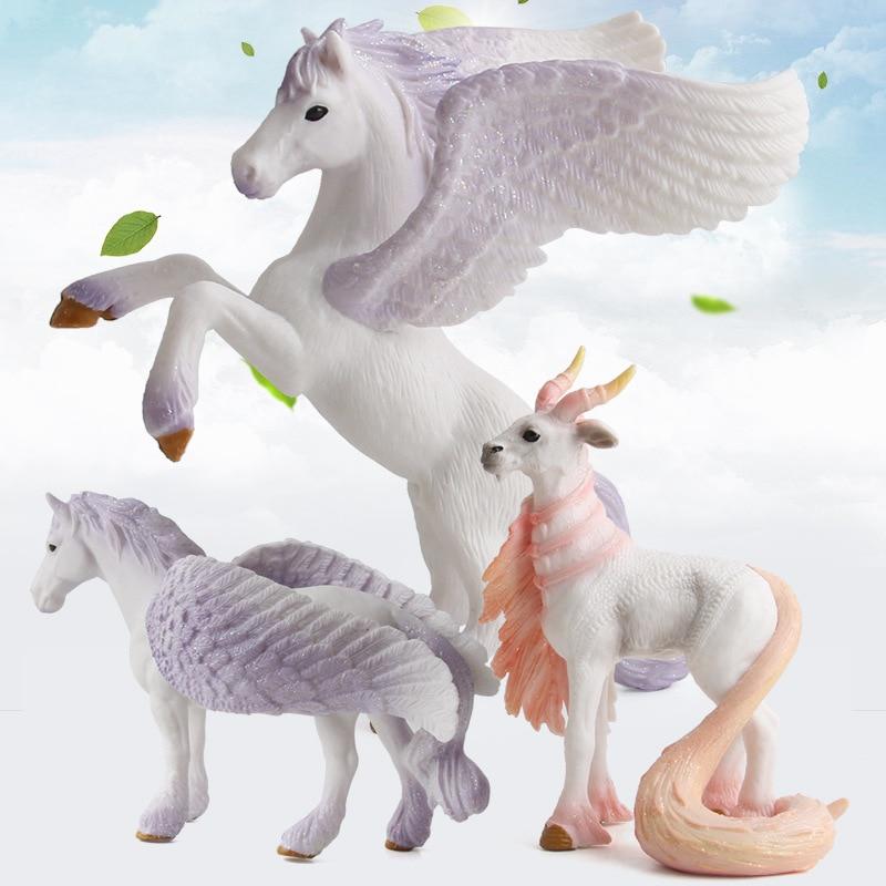 New Cute Horse Action Figures Friendship Is Magic Princess Luna Celestia Rainbow Dash Unicorn Flying Horse Figure Model Toys ...