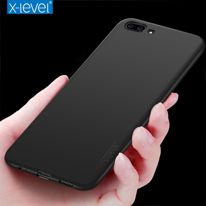 for OnePlus 5 Frosted Silicone Case X-Level Guardian Soft Matte TPU Case for One Plus 5 A5000 Scrub Back Cover OnePlus5 Cases