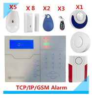 2018 Most Advanced Alarm 433mhz 868Mhz Wireless TCP IP GSM Alarm System Home Alarm System GPRS