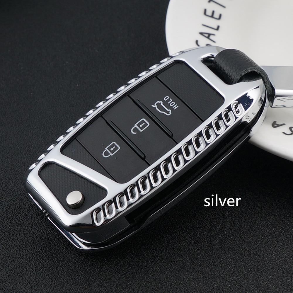 font b Car b font Key Case Cover Galvanized Alloy font b car b font