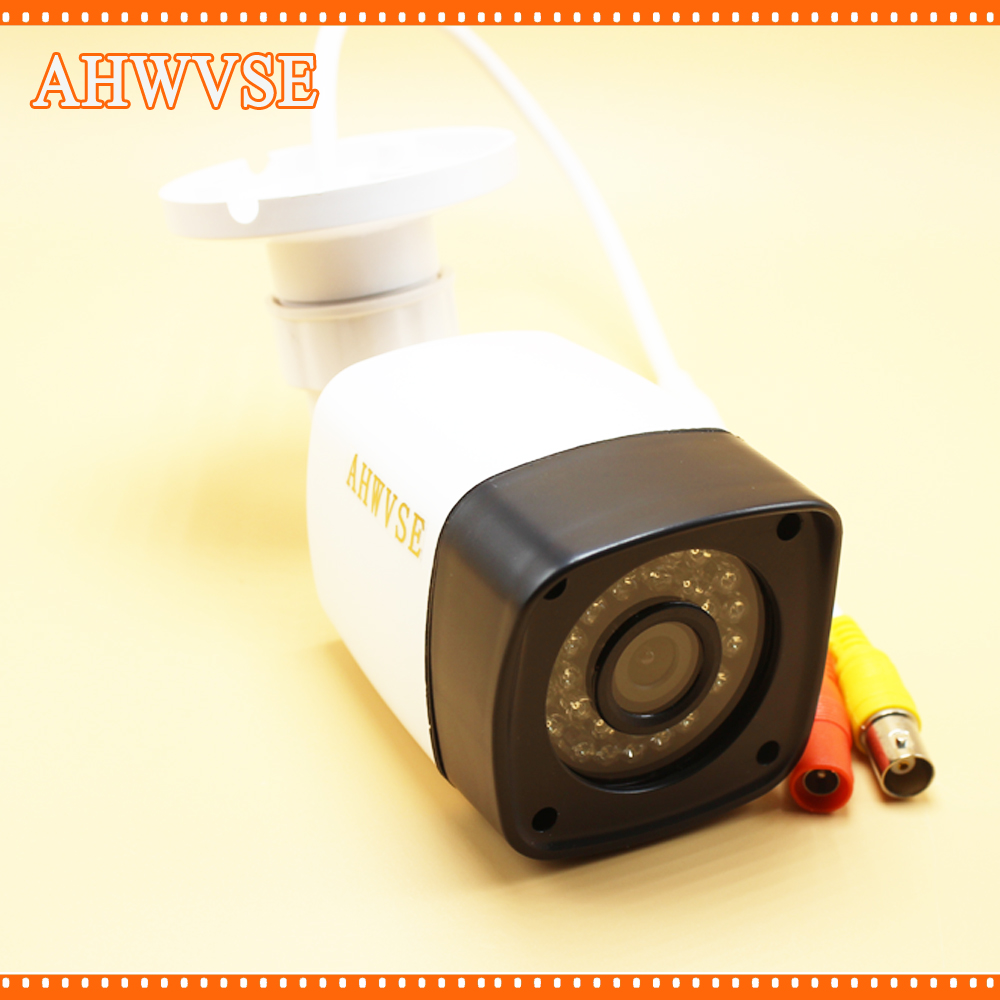 AHWVSE Full HD CCTV Camera 1080P Outdoor Security Camera 2MP AHD Bullet Camera 960P 720P Ultral Low Illumination