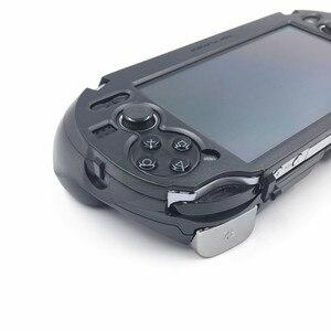 Image 4 - E בית מט יד גריפ ידית Joypad סטנד מקרה עם L2 R2 הדק כפתור עבור PSV1000 PSV 1000 ps VITA 1000 משחק קונסולה