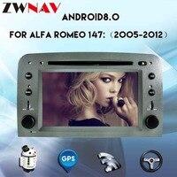 Android 8.0 Car multimedia player For Alfa Romeo Spider Alfa Romeo 147/GT 2005 2012 car dvd player GPS radio NAVI stereo screen