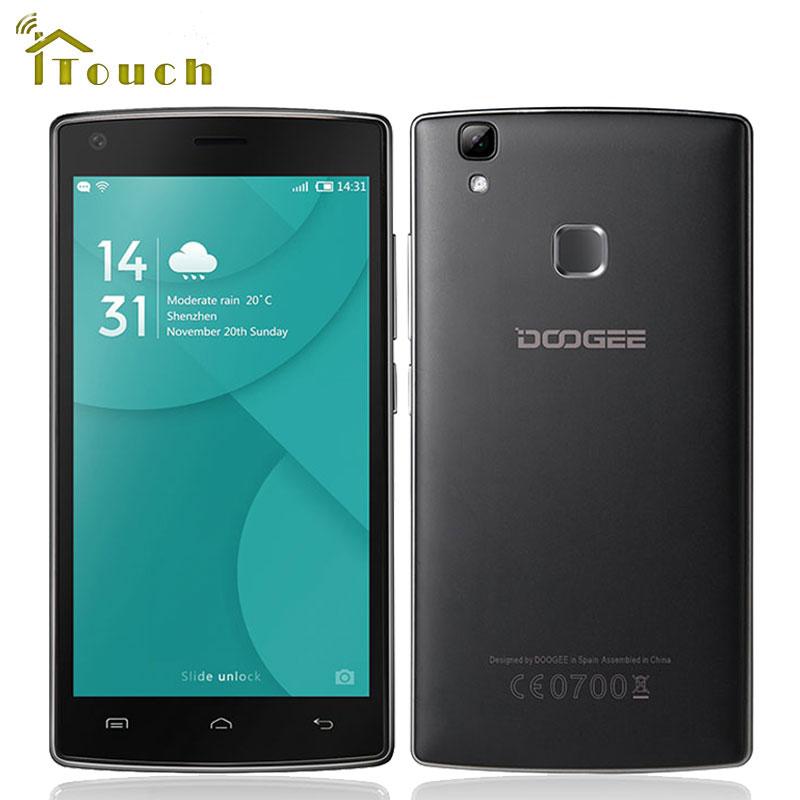 bilder für Original doogee x5 max 3g handy 5,0 zoll mtk6580 quad Core Android 6.0 handy 1 GB RAM 8 GB ROM 8MP 4000 mAh Fingerprint