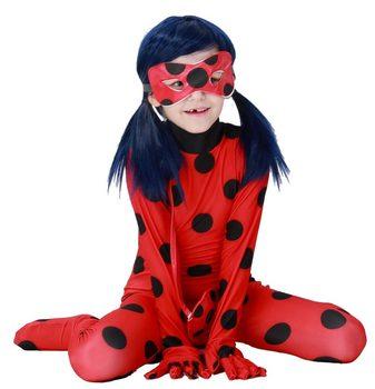 Girls LadyBug Costume 1