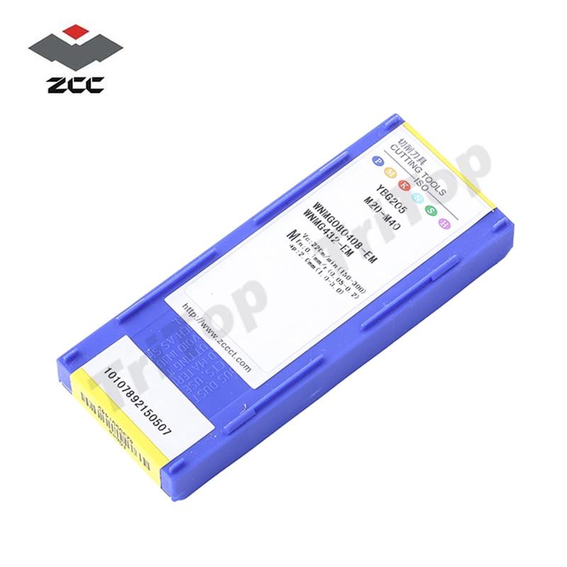 ENVÍO GRATIS WNMG 080408 -EM YBG205 zcc.ct Insertos WNMG432 10PCS / - Máquinas herramientas y accesorios - foto 6