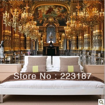 New free shipping,Space element large murals 3d European contracted sitting room bedroom art wallpaper wall stickers home decor