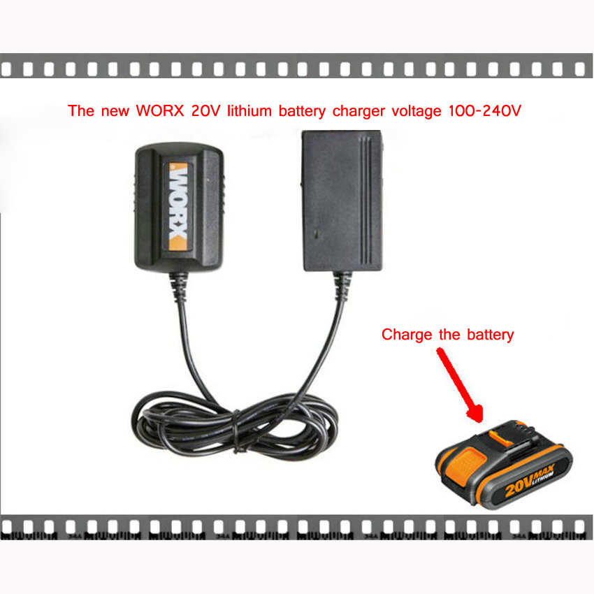 20 В литиевый аккумулятор зарядное устройство 500MA Smart устройство литиевый аккумулятор, зарядное устройство 1.3Ah, 1.5Ah, 2.0Ah Перезаряжаемые емкост…