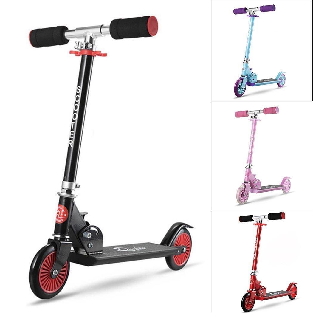 Nouveau Scooter en alliage d'aluminium hauteur réglable enfants enfants Scooter meilleurs cadeaux Patinete stunt pour enfants enfants garçons filles