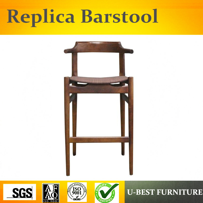 U-BEST European style solid wood bar chair stool chair, modern minimalist bar chairs tablet chair excellent quality simple modern stools fashion fabric stool home sofa ottomans solid wood fine workmanship chair furniture
