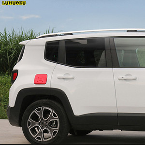 Image 4 - Luhuezu Alloy Gas Cover Fule Tank Cover For Jeep Renegade Accessories 2015 2016 2017