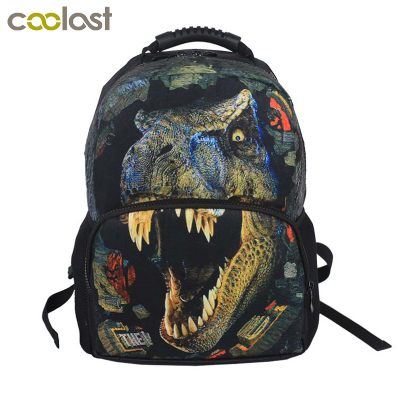 t-rex Dinosaur Backpack Women's Peacock Bag Women Men Backpack Students Backpacks For Teenage Girls Boys Children School Bags 16 inch anime game of thrones backpack for teenagers boys girls school bags women men travel bag children school backpacks gift
