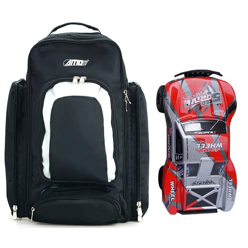 1PC RC Car Storage Bag Handbag Backpack  For Hqtoys 727 Short Truck Monster  Drift  Remote Control 1/10 Model