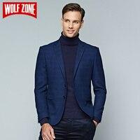 Sınırlı Marka Rahat Blazer Erkek Giyim Marka Slim Fit Takım Elbise Erkek Eğlence Iş Palto Tam Polyester Blazers Mens Ceket