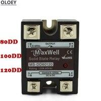 10 шт. Однофазное твердотельное реле постоянного тока управляемый постоянный ток SSR 60 80 100 120DD Номинальное напряжение: 220VDC Номинальный ток: 10A