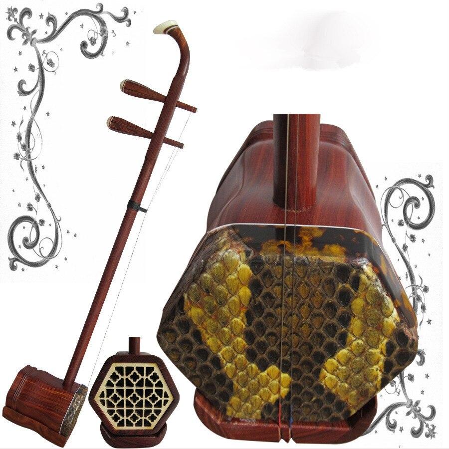 Chinois Erhu 2-chaîne Violon Violon Instrument de Musique À Cordes Avec Bow Case