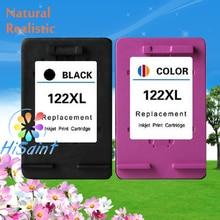 De alta calidad para hp 122 122xl ch563h ch564h cartucho de tinta compatible negro y color para hp deskjet impresora 1000/1050/2000/2050