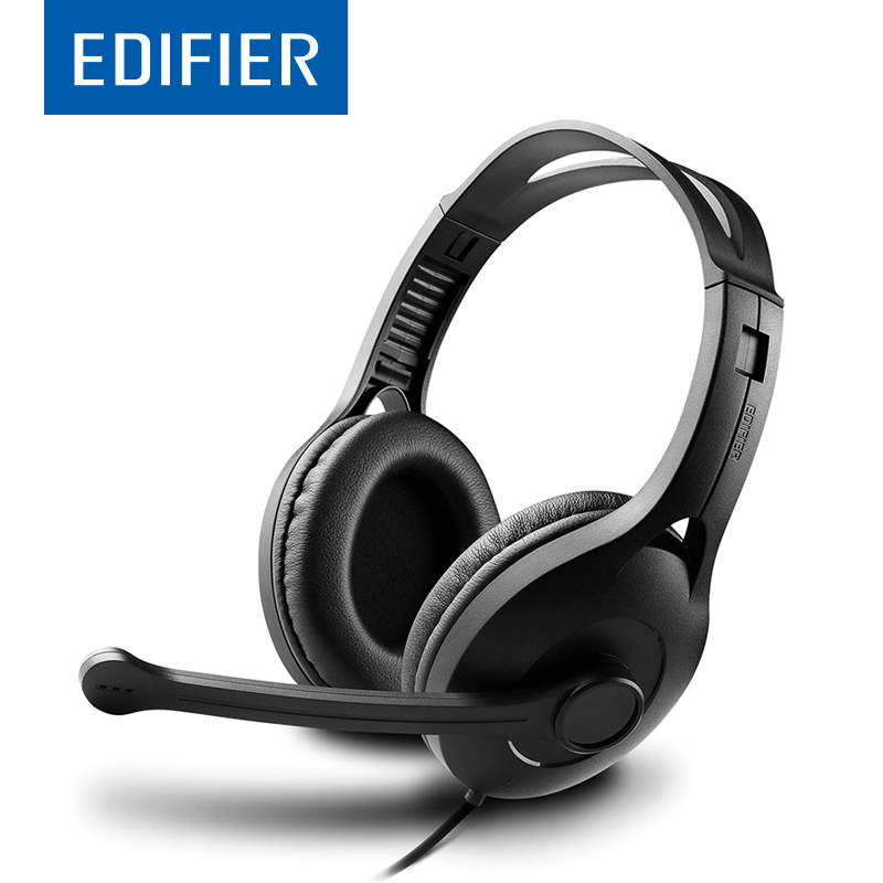 EDIFIER K800 Over-Ear Headphones Flexible Comfortable Over-Ear Game Headset Noise Canceling With Mic For Computer Multimedia