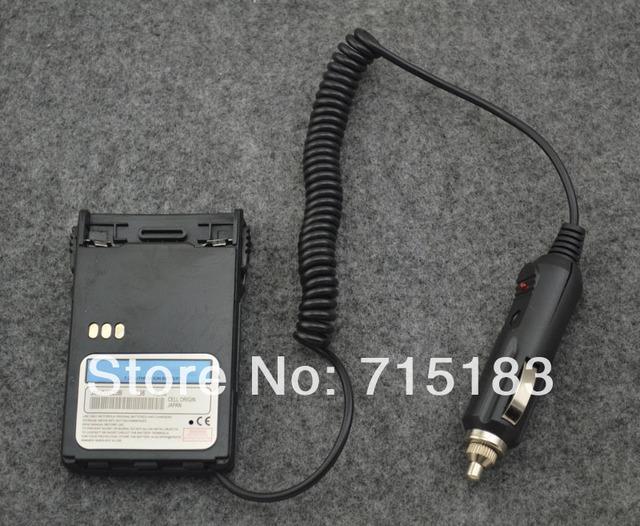 Eliminador de batería cargador de coche para motorola gp344 gp388 gp328plus gp338plus gl2000 ex500