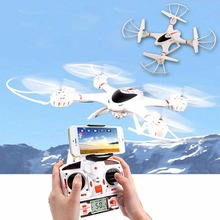 Peradix MJX X400 6-axis Gyro 4CH RC Quadcopter Drone 3D Roll RC Helicopter Aircraft C4005 FPV Drones with Camera