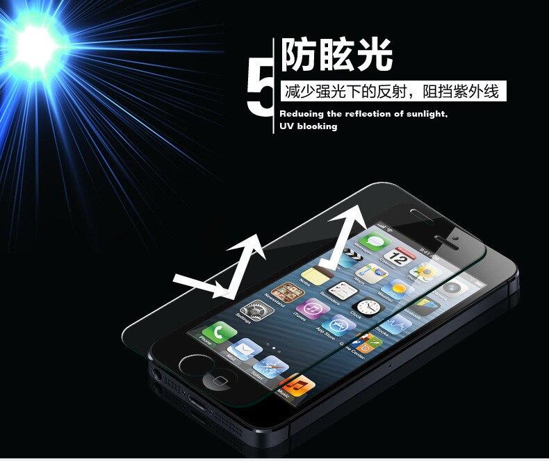 1000pcs for iphone 5 kaca tempered 0.3 mm 9 H ledakan-bukti - bukti for iphone  5S a0cdf3be14