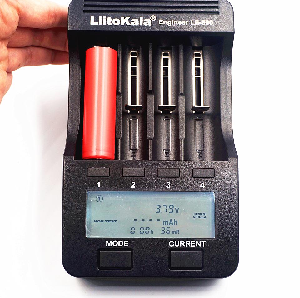 Liitokala lii-500 18650 Battery Charger (4)