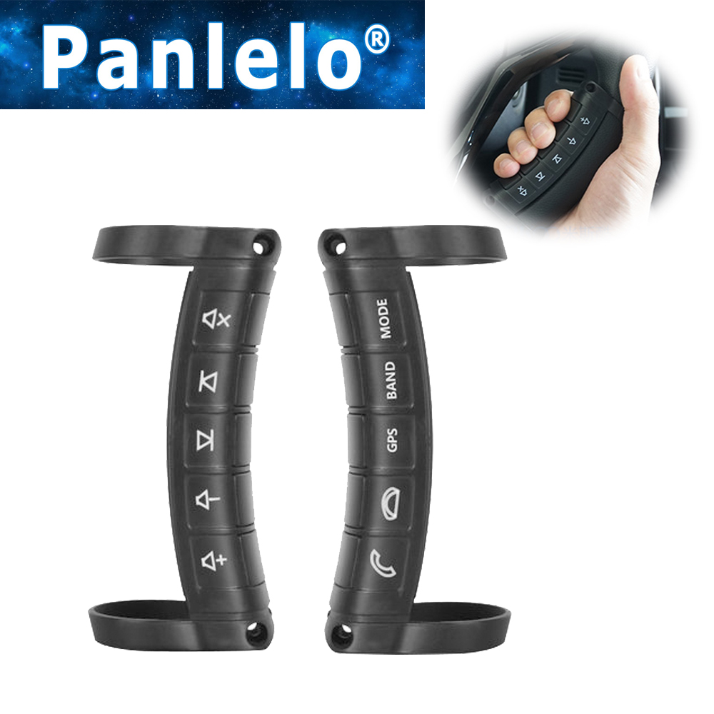 Panlelo Universal Wireless Car steeringwheel Button Remote Control Used in Android /<font><b>Windows</b></font> Ce navigation 2 Din / <font><b>1</b></font> DIN image