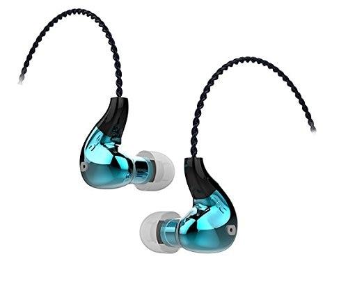 FLC8N Hybrid Dual Balanced Armature Dynamic 2BA+DD Hifi Music Monitor DJ Studio Stage 3.5mm / 2.5mm Blanced Earbuds Earphones