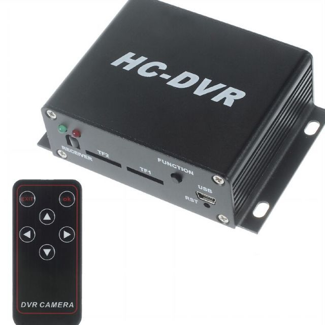 FPV DVR HC-DVR Dual Card 128GB Large Storage FPV Mini DVR Digital Video Audio Recorder supports 720 HD with romote control prodvr pro dvr mini video audio recorder fpv recorder rc quadcopter recorder for fpv rc multicopters