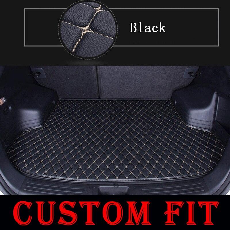 Custom fit car trunk mats for BMW X1 X3 X4 X5 E53 E70 F15 X6 I3