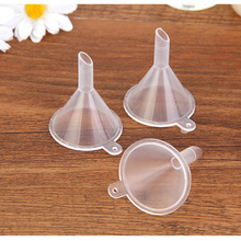 FM10Pcs transparent plastic funnel Hopper Kitchen cooking Ac