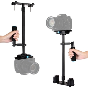 Image 2 - PULUZ S60T Professional Portable Carbon Fiber Tube Mini Handheld Camera Stabilizer DSLR Camcorder Video Stabilizing Steadicam