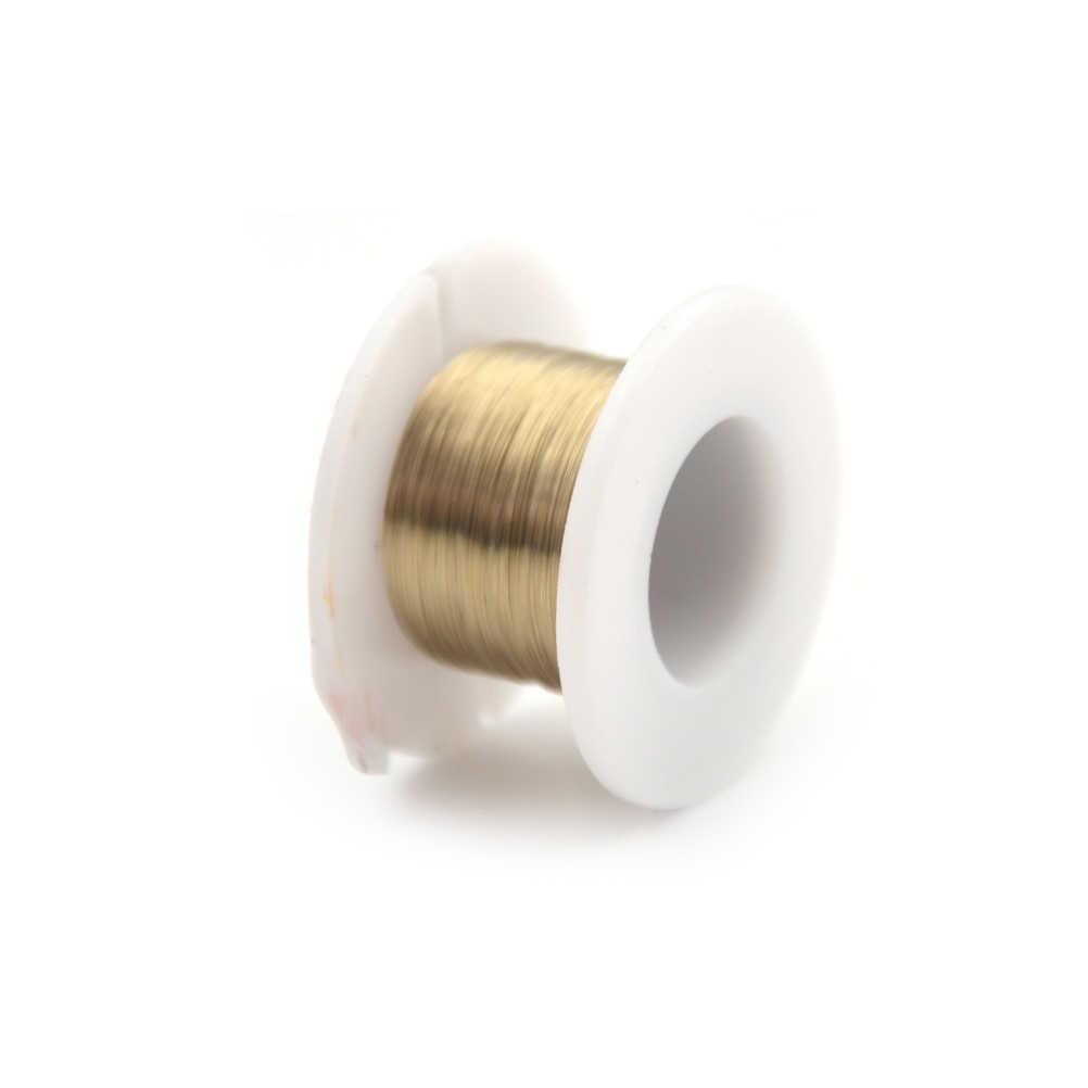 1 rolka złota linia cięcia drutu molibdenu dla Iphone 4/4s/5/Samsung S4/S3 szklany ekran LCD Separator 0.08mm 100M