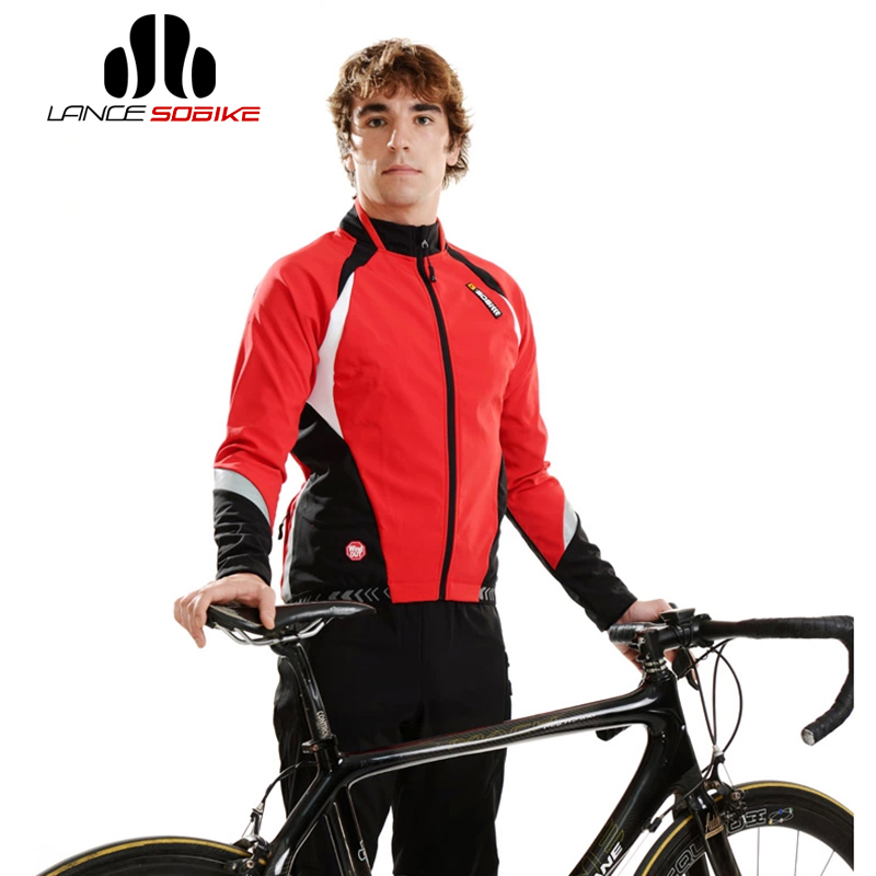 цена на SOBIKE Winter WINDOUT Fleece Thermal CATHE Bike Bicycle Cycling Cycle Long Sleeve Jersey Jacket Aurora Cycling Bike Equipments