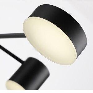 Image 5 - โมเดิร์นแฟชั่นสีดำสีขาวLedเพดานระงับโคมไฟระย้าโคมไฟสำหรับห้องโถงห้องครัวห้องนั่งเล่นLoftห้องนอน