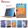 TopArmor New Painted PU Leather Case With Card Slots For Apple IPad Pro 9 Case Folio
