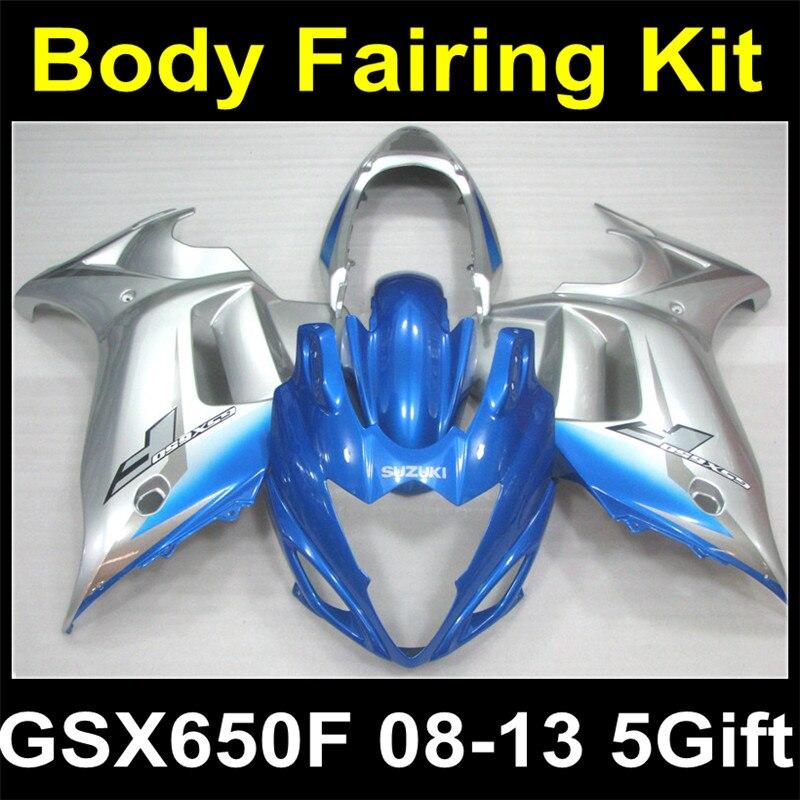 Full Body Plastic Fairing Kit Set For SUZUKI GSX650F GSX650 GSX 650 650F 2008 2009 2010 2011 2012 2013 08 09 10 11 12 13 S08-44 car rear trunk security shield shade cargo cover for nissan qashqai 2008 2009 2010 2011 2012 2013 black beige