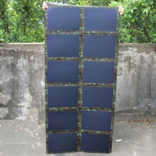 72W 18V Folded Solar Panel Charger Outdoor For12V Battery Charger Amorphous Silicon Thin Film Solar Bag Waterproof High Quality