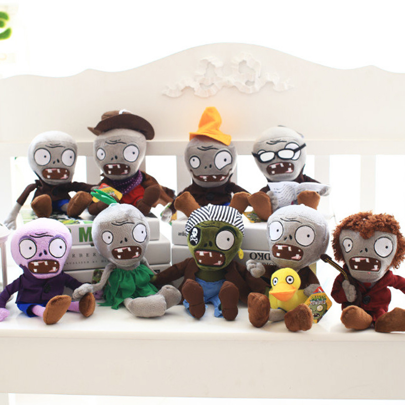 2016 New 30CM Plants vs Zombies Soft Plush Toy Doll Game Figure Statue Baby Toy for Children Gifts Party toys hot sale plants vs zombies cucumber plush toy doll game figure statue baby toy for children gifts party toys