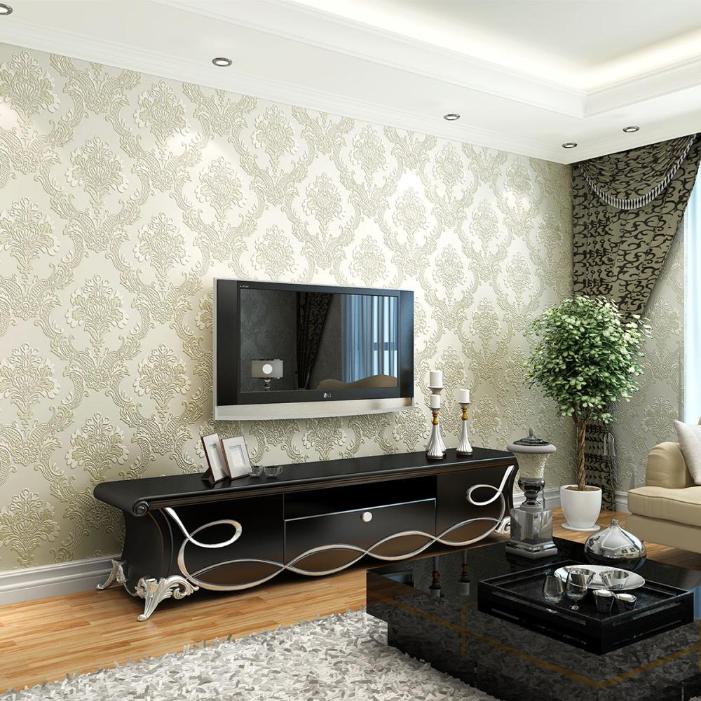 Light Blue Wallpaper Bedroom Aliexpresscom Buy 2015 New High End 3d Wallpaper Backdrop