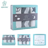 3 Pack Premium Organic Cotton Baby Swaddle Blankets Large 47 X 47 Inch Muslin Swaddle Blankets