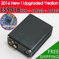 Nova ES9018K2M + AD823 + SA9023 USB Decodificador DAC ESS ES9023 DAC Amplificador de Fone De Ouvido Placa de Som Externa Para Além, frete grátis
